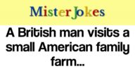 A British man visits a small American family farm…