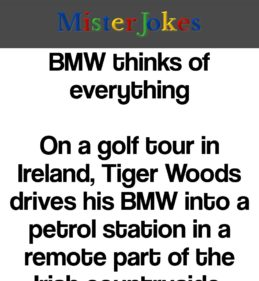 BMW thinks of everything