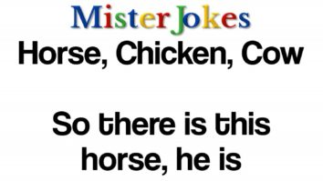 Horse, Chicken, Cow