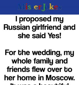 I proposed my Russian girlfriend and she said Yes!