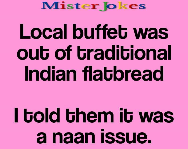 Local buffet was out of traditional Indian flatbread