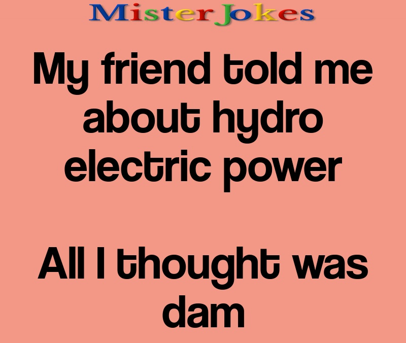 My friend told me about hydro electric power