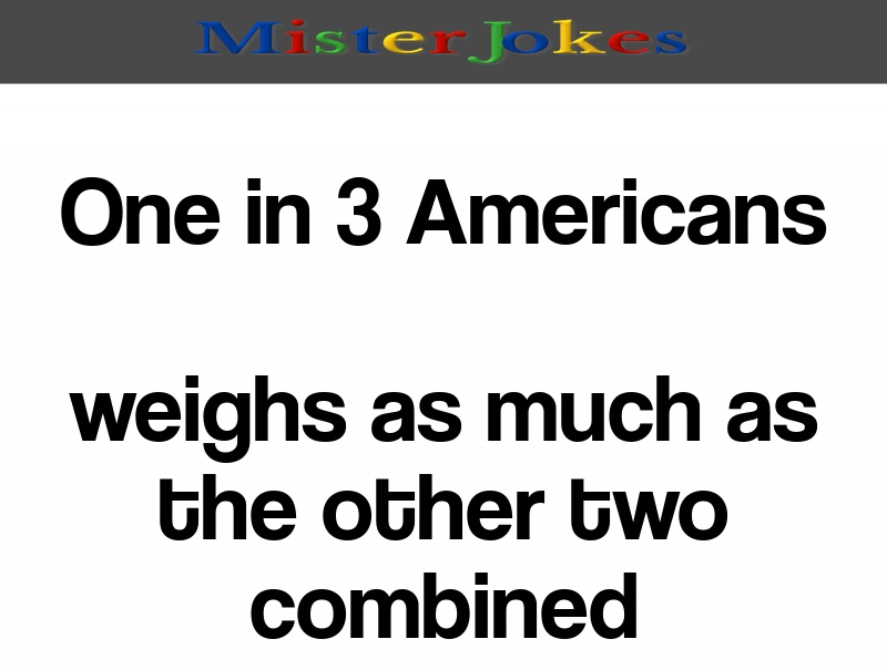 One in 3 Americans