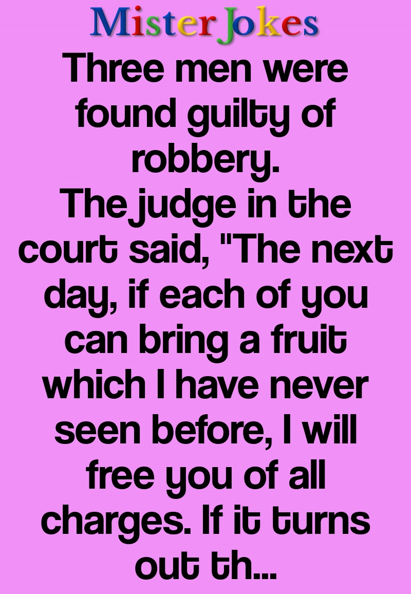 Three men were found guilty of robbery.