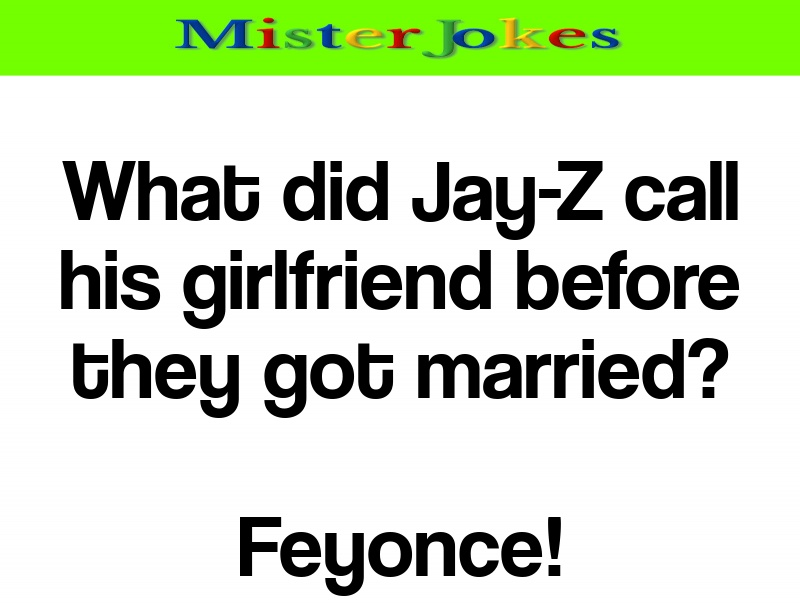 What did Jay-Z call his girlfriend before they got married?