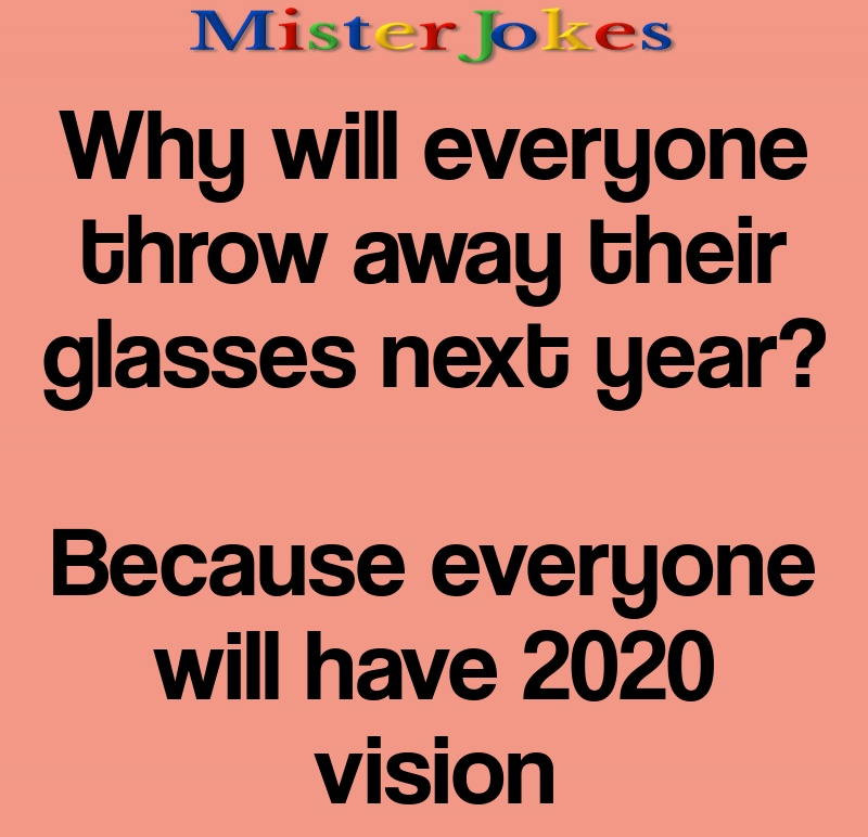 Why will everyone throw away their glasses next year?