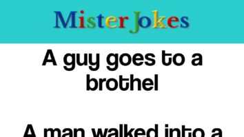 A guy goes to a brothel