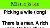 Picking a wife (long)
