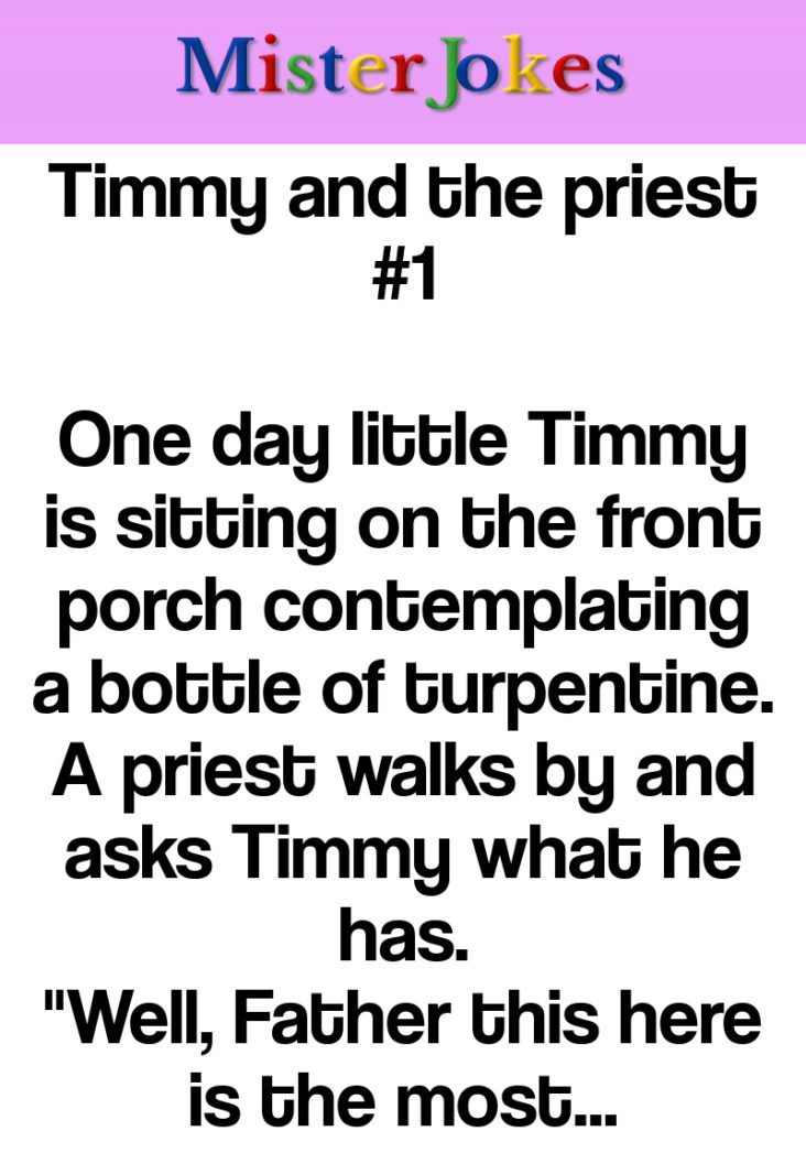 Timmy and the priest #1