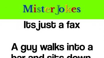 Its just a fax